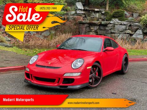 2006 Porsche 911 for sale at Mudarri Motorsports in Kirkland WA