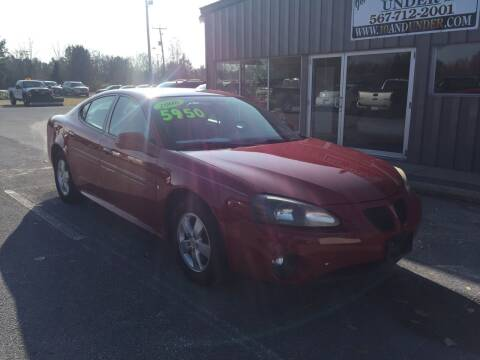 2008 Pontiac Grand Prix for sale at KEITH JORDAN'S 10 & UNDER in Lima OH