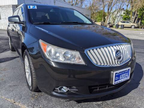 2012 Buick LaCrosse for sale at GREAT DEALS ON WHEELS in Michigan City IN