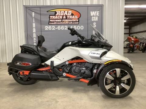 2015 Can-Am Spyder® F3 S 6-Speed Semi for sale at Road Track and Trail in Big Bend WI