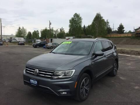 2018 Volkswagen Tiguan for sale at Delta Car Connection LLC in Anchorage AK