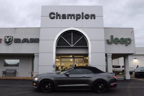 2016 Ford Mustang for sale at Champion Chevrolet in Athens AL