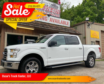 2017 Ford F-150 for sale at Oscar's Truck Center, LLC in Houston TX