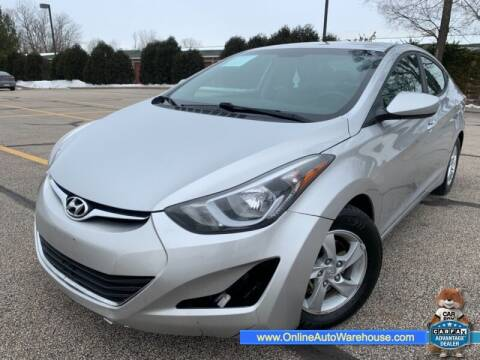 2014 Hyundai Elantra for sale at IMPORTS AUTO GROUP in Akron OH