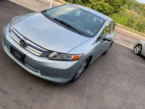 2012 Honda Civic for sale at Seran Auto Sales LLC in Pittsburgh PA