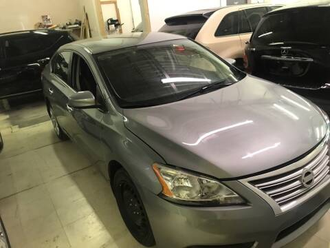 2014 Nissan Sentra for sale at Cargo Vans of Chicago LLC in Mokena IL