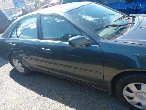 2002 Toyota Camry for sale at Delgato Auto in Pittsboro NC