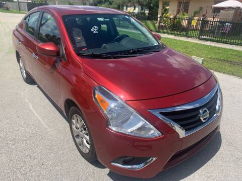 2018 Nissan Versa for sale at Eden Cars Inc in Hollywood FL
