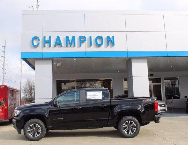 2021 Chevrolet Colorado for sale at Champion Chevrolet in Athens AL