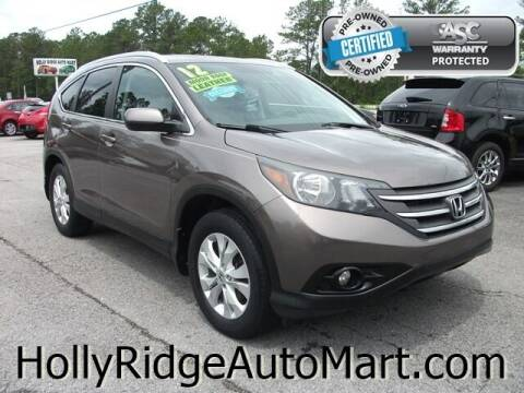 2012 Honda CR-V for sale at Holly Ridge Auto Mart in Holly Ridge NC