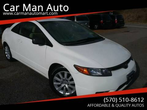 2008 Honda Civic for sale at Car Man Auto in Old Forge PA