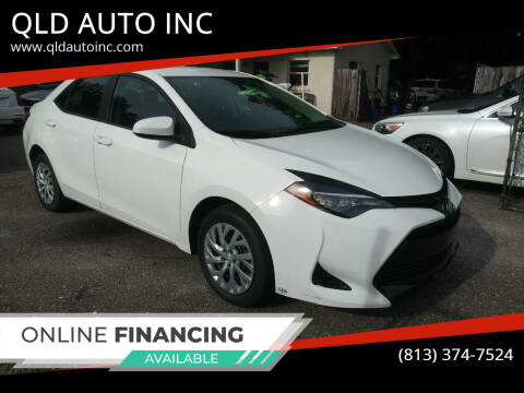 2018 Toyota Corolla for sale at QLD AUTO INC in Tampa FL