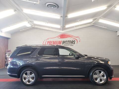 2015 Dodge Durango for sale at Premium Motors in Villa Park IL