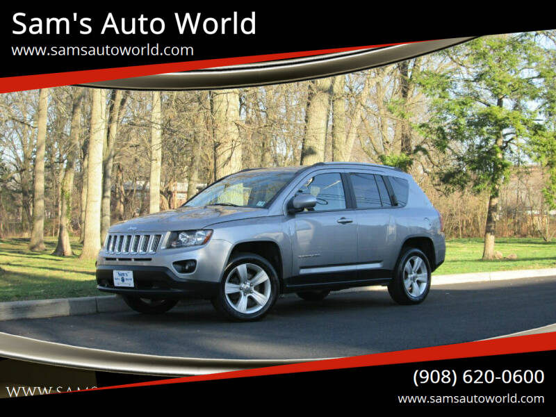 2016 Jeep Compass for sale at Sam's Auto World in Roselle NJ