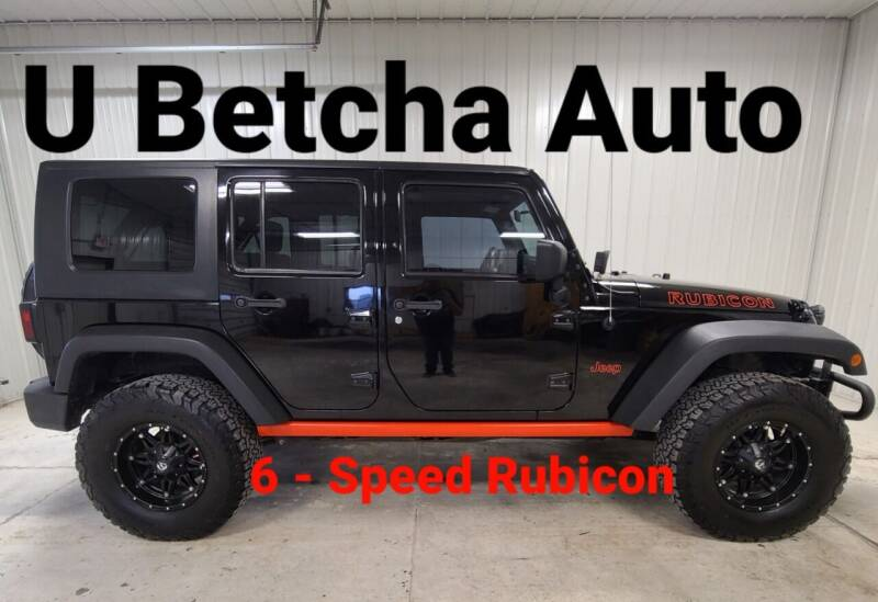 2010 Jeep Wrangler Unlimited for sale at Ubetcha Auto in Saint Paul NE