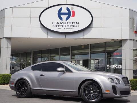 2010 Bentley Continental for sale at Harrison Imports in Sandy UT