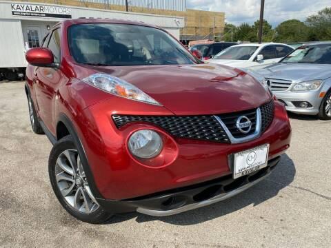 2013 Nissan JUKE for sale at KAYALAR MOTORS in Houston TX