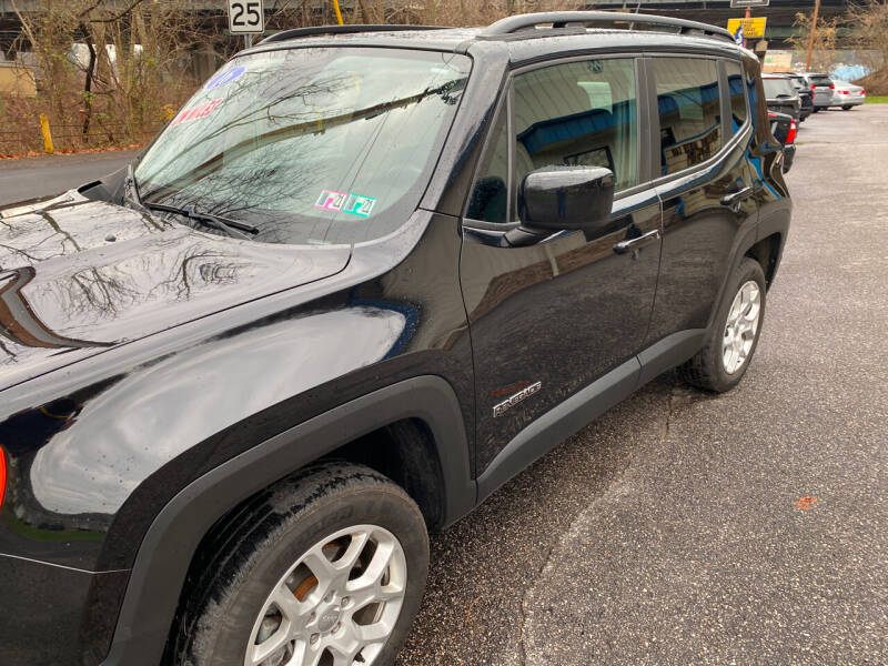 2016 Jeep Renegade for sale at WHARTON'S AUTO SVC & USED CARS in Wheeling WV