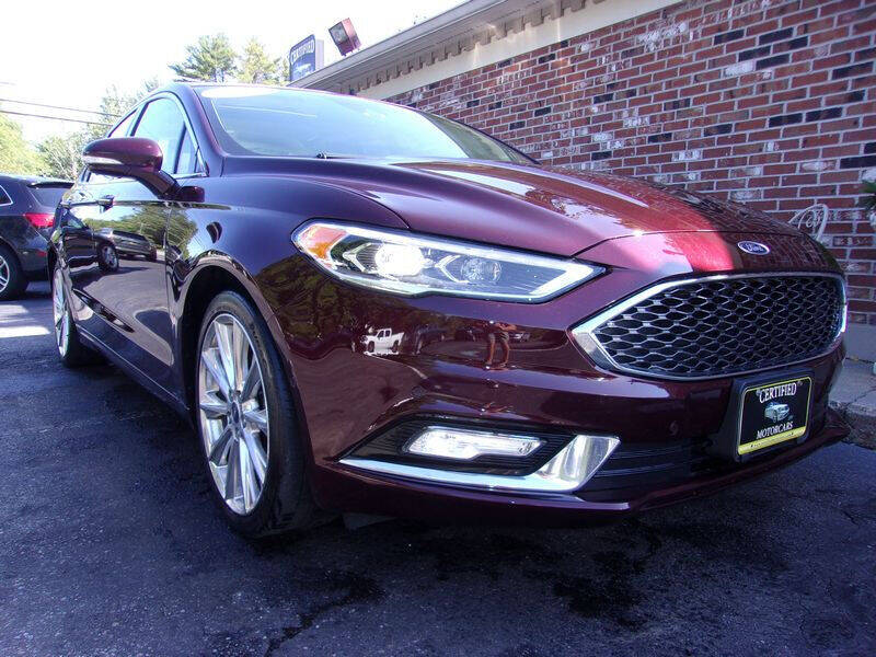 2017 Ford Fusion for sale at Certified Motorcars LLC in Franklin NH
