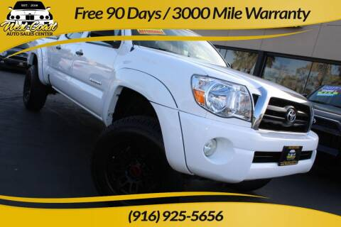 2007 Toyota Tacoma for sale at West Coast Auto Sales Center in Sacramento CA