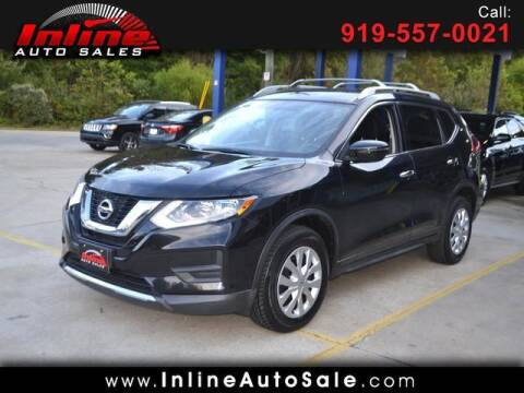 2017 Nissan Rogue for sale at Inline Auto Sales in Fuquay Varina NC
