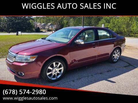 2007 Lincoln MKZ for sale at WIGGLES AUTO SALES INC in Mableton GA