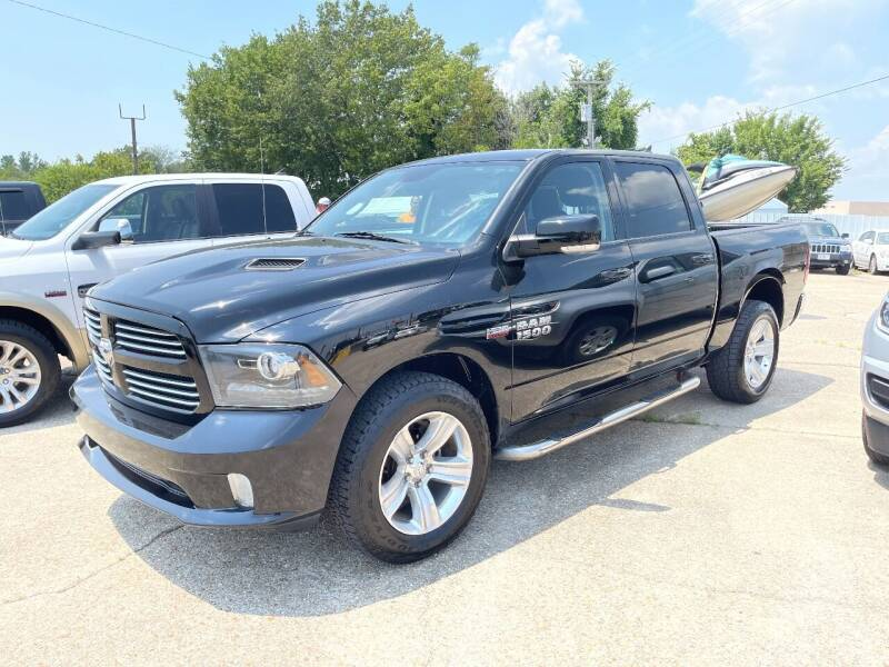 2014 RAM Ram Pickup 1500 for sale at Greg's Auto Sales in Poplar Bluff MO