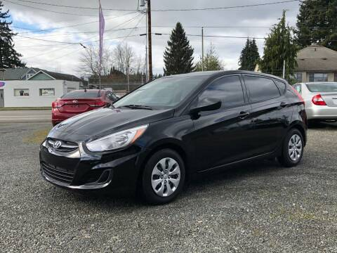2017 Hyundai Accent for sale at A & V AUTO SALES LLC in Marysville WA