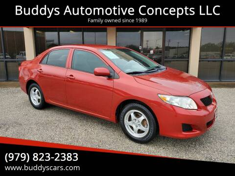 2010 Toyota Corolla for sale at Buddys Automotive Concepts LLC in Bryan TX