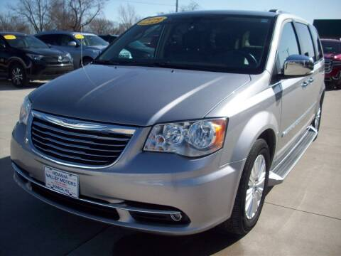 2016 Chrysler Town and Country for sale at Nemaha Valley Motors in Seneca KS
