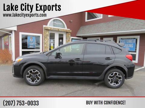 2016 Subaru Crosstrek for sale at Lake City Exports in Auburn ME