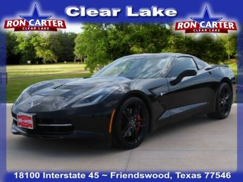 2014 Chevrolet Corvette for sale at Ron Carter  Clear Lake Used Cars in Houston TX