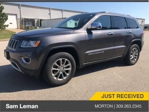 2014 Jeep Grand Cherokee for sale at Sam Leman CDJRF Morton in Morton IL