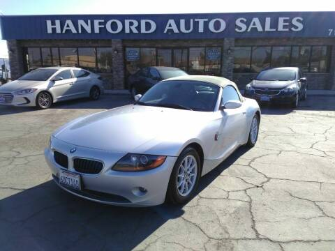 2004 BMW Z4 for sale at Hanford Auto Sales in Hanford CA