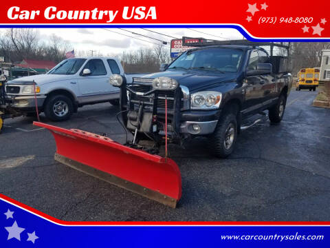 2007 Dodge Ram Pickup 2500 for sale at Car Country USA in Augusta NJ