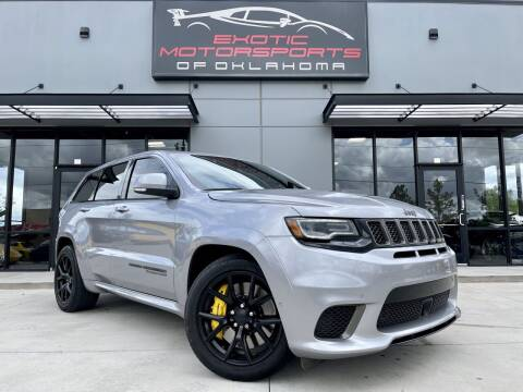 2018 Jeep Grand Cherokee for sale at Exotic Motorsports of Oklahoma in Edmond OK