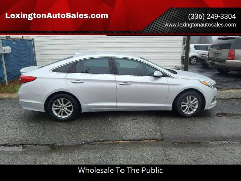 2015 Hyundai Sonata for sale at LexingtonAutoSales.com in Lexington NC