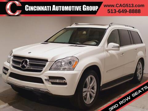 2012 Mercedes-Benz GL-Class for sale at Cincinnati Automotive Group in Lebanon OH
