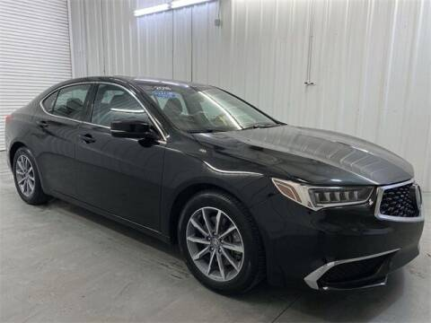 2018 Acura TLX for sale at JOE BULLARD USED CARS in Mobile AL