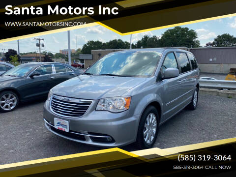 2013 Chrysler Town and Country for sale at Santa Motors Inc in Rochester NY