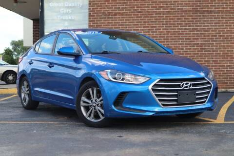 2018 Hyundai Elantra for sale at Hobart Auto Sales in Hobart IN