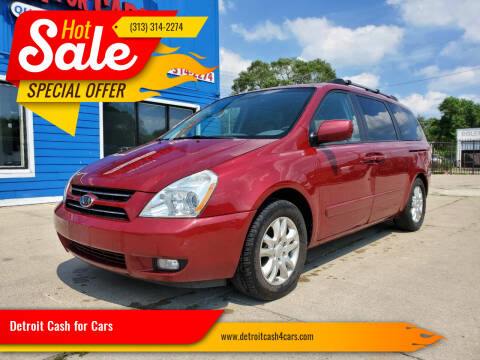 2007 Kia Sedona for sale at Detroit Cash for Cars in Warren MI
