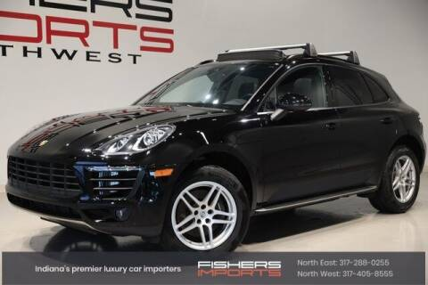 2018 Porsche Macan for sale at Fishers Imports in Fishers IN