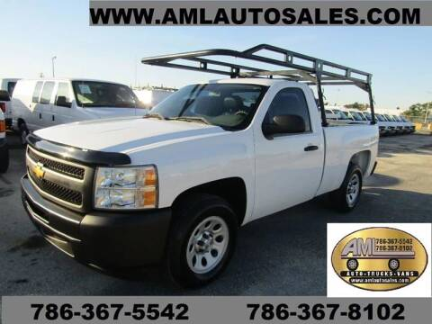 2013 Chevrolet Silverado 1500 for sale at AML AUTO SALES - Utility Trucks in Opa-Locka FL