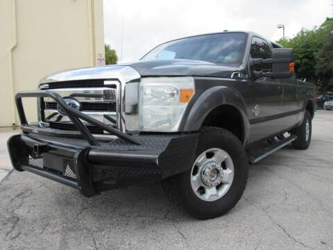 2011 Ford F-250 Super Duty for sale at Easy Deal Auto Brokers in Hollywood FL