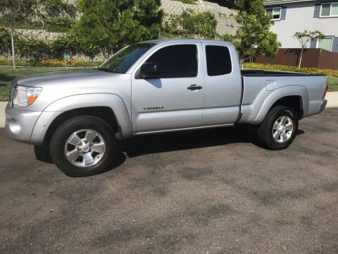 2006 Toyota Tacoma for sale at CALIFORNIA AUTO GROUP in San Diego CA