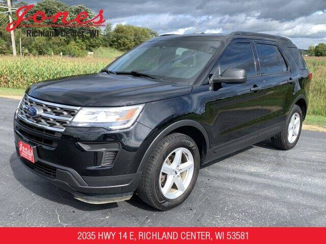 2018 Ford Explorer for sale at Jones Chevrolet Buick Cadillac in Richland Center WI