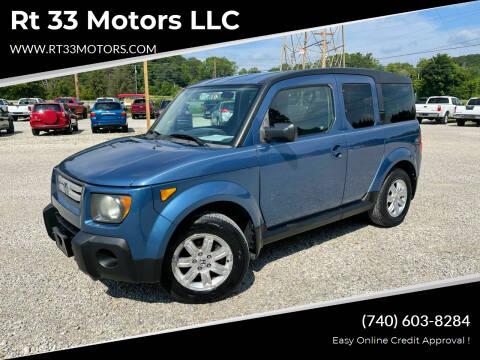 2008 Honda Element for sale at Rt 33 Motors LLC in Rockbridge OH