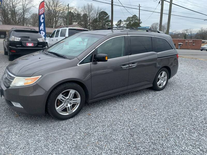 2011 Honda Odyssey for sale at MOUNTAIN CITY MOTORS INC in Dalton GA
