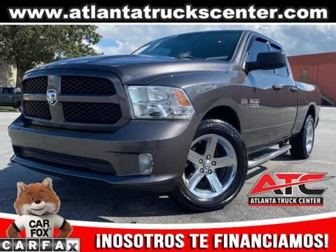 2014 RAM Ram Pickup 1500 for sale at ATLANTA TRUCK CENTER LLC in Brookhaven GA